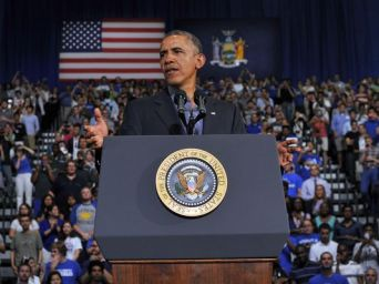 President Obama at University of Buffalo