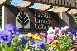 Pacific Union College Sign