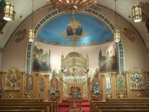 Saint John's Orthodox Church of Hermitage, Pennsylvania, Old Church