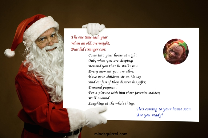Santa the stalker